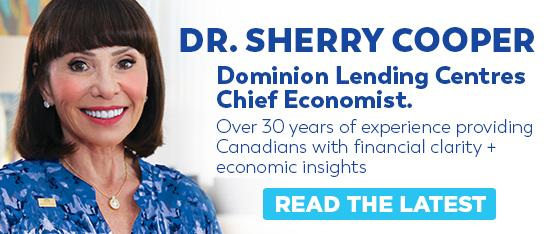 Doctor Sherry Cooper with Dominion Lending Centres